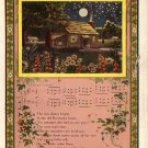Old Kentucky Home, Parlor Song Vintage Postcard - 4713