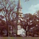 Congregational Church in Falmouth Massachusetts MA Chrome Postcard - 4766