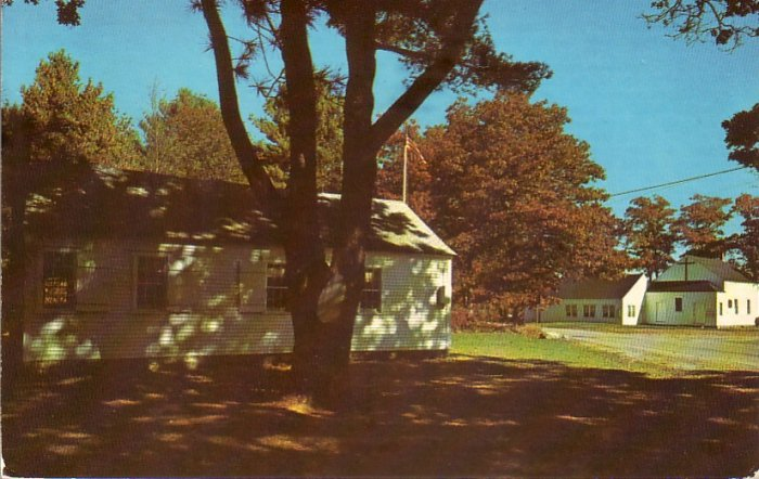 Hornbine Baptist Church in Rehoboth Massachusetts MA Postcard - 4764
