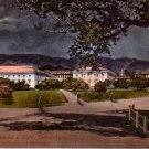 Campus at Night University of California, Berkeley CA Vintage Postcard - 4787