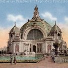 Festival Hall Panama Pacific International Exposition in San Francisco California CA Postcard - 4789