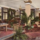 Foyer to Tea Room in Bullock's Department Store Los Angeles California CA Vintage Postcard - 4789