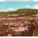 Placer Mining Scars at Dutch Flat California CA Vintage Postcard - 4791