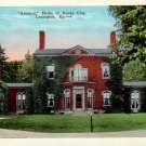 Ashland, Home of Henry Clay in Lexington Kentucky KY Vintage Postcard - 4819