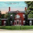 Ashland, Home of Henry Clay in Lexington Kentucky KY Vintage Postcard - 4819