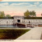 Fort Entrance Fortress Monroe Virginia VA Curt Teich Vintage Postcard - 4836