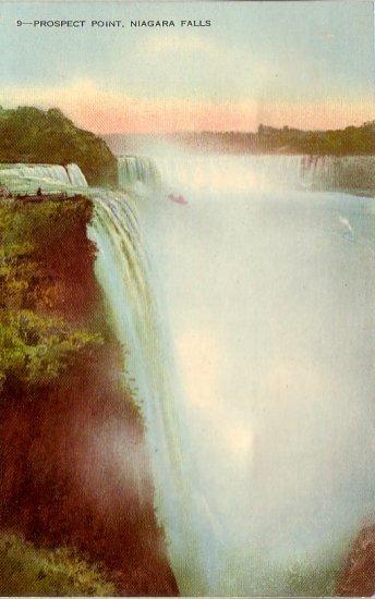 Prospect Point Niagara Falls Canada Vintage Postcard - 4860