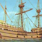 Mayflower II 1957 Gift from Great Britain in Plymouth Massachusetts MA Postcard - 4897