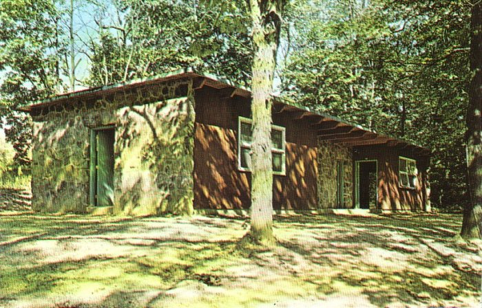 Pilgrim Hills Conference and Retreat Center in Brinkhaven Ohio OH Postcard - 4900