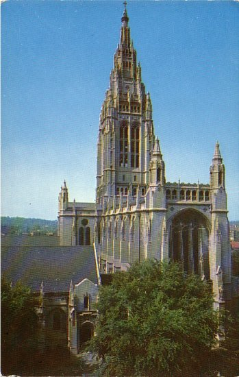 East Liberty Presbyterian Church in Pittsburg Pennsylvania PA Chrome Postcard - 4912