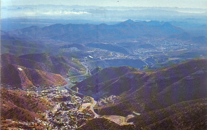 Lavender Pit & Copper Mill Bisbee Arizona AZ Chrome Postcard - 4915