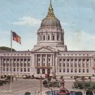 City Hall San Francisco California CA Edward H. Mitchell Vintage Postcard - 4916
