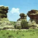 The Three Sisters near Kenton Oklahoma OK Chrome Postcard - 4917