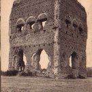 Le Temple de Janus in Autun France Vintage Postcard - 4937