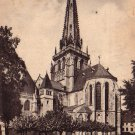 Cathedral Saint Lazare in Autun France Vintage Postcard - 4938