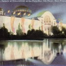 Palace of Education 1915 Panama Pacific International Exposition Edward H. Mitchell Postcard - 4978