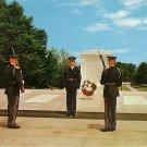 Tomb of the Unknowns Arlington Virginia VA Chrome Postcard - 5012