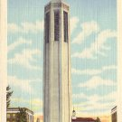 Carillon Tower University of Nebraska in Lincoln NE 1950 Curt Teich Postcard - 5016