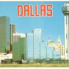 Dallas Texas TX Skyscrapers Chrome Postcard - 5023