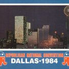 1984 Republican National Convention in Dallas Texas TX Chrome Postcard - 5027