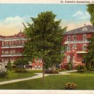 St. Patrick's Sanitarium Lake Charles Louisiana LA Postcard - 5033