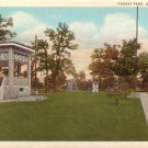 Forest Park Denison Texas TX Curt Teich Vintage Postcard - 5041