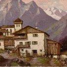 W. Hoy Bergdorf Degi No. 1398 Textured Vintage Postcard - 5056