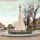 Soldiers Monument in Haverhill Massachusetts MA Vintage Postcard - 5069
