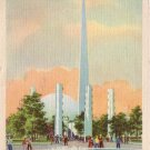 Theme Center at New York 1939 World's Fair Linen Postcard - 5092