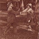Ah Come On Man Courting Lady Comic Vintage Postcard - 5099
