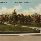 Virginia Union University Richmond VA Mid Century Linen Postcard - 5128