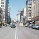 Third Avenue in Seattle Washington WA Chrome Postcard - 5137