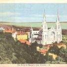 Ste. Anne de Beaupre in Quebec Canada Vintage Postcard - 5141