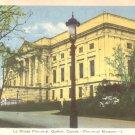 Provincial Museum in Quebec Canada Vintage Postcard - 5143