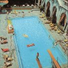 Chase Park Plaza Hotel Sun and Swim Club Pool St. Louis Missouri MO Postcard - 5158