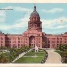 Texas State Capitol Austin TX 1930 Vintage Postcard - 5166