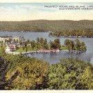 Prospect House and Island Lake Bomoseen Vermont VT 1916 Postcard - 5167