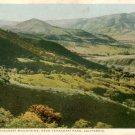 Tehachapi Mountains in California CA Fred Harvey Vintage Postcard - 5171