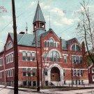 High School at New Castle Pennsylvania PA 1909 Vintage Postcard - 5173
