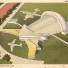 Aviation Building New York World's Fair 1939 Linen Postcard - 5182