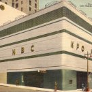 Radio City in San Francisco California CA Linen Postcard - 5183