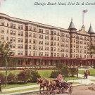Chicago Beach Hotel Chicago Illinois IL Postcard - 5189