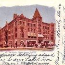 The Alamo Hotel in Colorado Springs CO 1907 Vintage Postcard - 5193