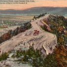 Sky Line Drive near Canon City Colorado CO 1913 Vintage Postcard - 5194