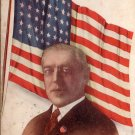 Woodrow Wilson Patriotic Edward H. Mitchell Vintage Postcard - 5204