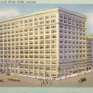Marshall Field Co., Retail Store Chicago Illinois IL Mid Century Linen Postcard - 5206