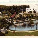 Confederate Park and Scottish Rite Memorial in Jacksonville Florida FL Postcard - 5208