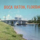 Bridge at Boca Raton Florida FL Chrome Postcard - 5209