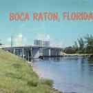 Bridge at Boca Raton Florida FL Chrome Postcard - 5209