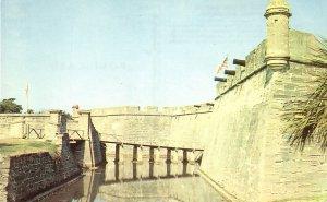Castillo De San Marcos National Monument in St. Augustine Florida FL Postcard - 5219